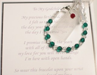 Godchild Godmother Gift Bracelet