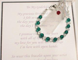 Godchild Godmother Gift Bracelet