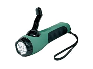 Ring Automotive RT5113 Cyba-Lite Wind Up Torch