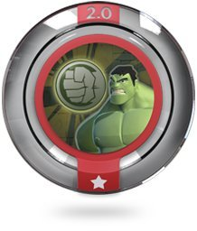 Disney INFINITY: Marvel Super Heroes (2.0 Edition) Power Disc - Gamma Rays (Grey Hulk)