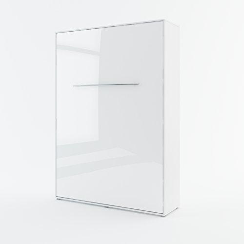 Schrankbett-CONCEPT-PRO-Wandklappbett-Vertikal-140x200-cm-wei-hochglanz