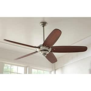 Home Decorator Altura 68 In Brushed Nickel Ceiling Fan