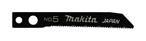 Makita A-85.905 - Blister da 5 lame per seghetto alternativo HSS metallo Classe E Inox Dpp Maggio 24 denti 42 millimetri Makita Tipo di inserimento B