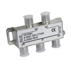 Luxtronic 4-Way 2.4ghz Digital Signal Splitter
