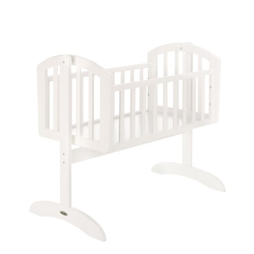 OBaby Sophie Swinging Crib (White)