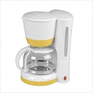 Yellow Filter Coffee Maker : Caffee Maker US: Kalorik CM 32849 Y Yellow Eight Cup Coffee Maker