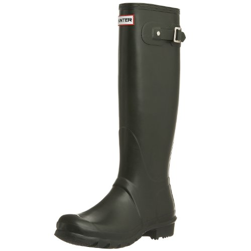 Hunter Unisex-Adult Hunter Original Tall Dark Olive Wellington Boot W23499 10 UK