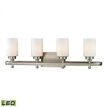 Four Light LED Bath Bar Vanity Bathroom Light Fixture