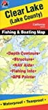 Search : Clear Lake Fishing Map &#40;California Fishing Map Series, A134&#41;