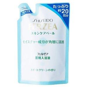 フェルゼア 薬用スキンケア入浴液 スイートグリーン 詰替用 500ml×2