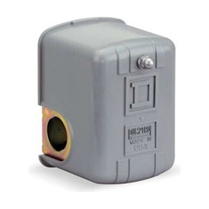 Pressure Switch, 30-50Psi, 1Port, Dpst, 10A