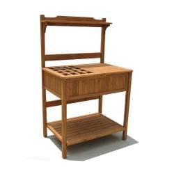 Merry Garden Potting Bench  Recessed Storage