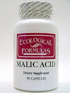 Ecological Formulas - Malic Acid 600 mg 90 caps