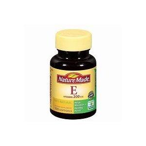 Nature Made Vitamin E 200IU, 100 Softgels (Pack of 3)