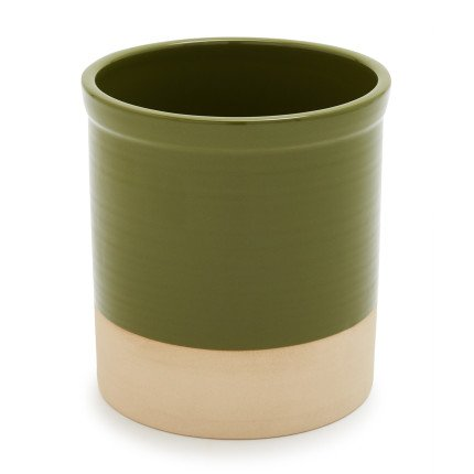 Sur La Table Dipped Utensil Crock AS01650-TH6-GRN , Spruce (Green Utensil Crock compare prices)