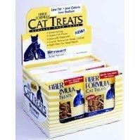 Stewart Cat Treats, 2.1-Ounces, Fiber Formula, Hairballs, Obesity