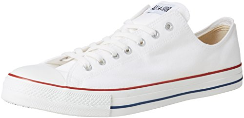 Converse Chuck Tailor All Star Sneakers, Unisex-adulto, Bianco (Optical White), 43