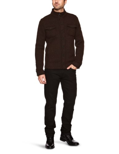 GAS Barnaby S Mix 0585 Men's Jacket Dark Chocolate X-Large