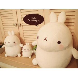 Korea Drama Goods Dignity of Gentleman - Molang Doll 25 cm/ 9.84Inch (COPM075) - 1