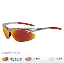 Tifosi Optics TIFOSI TYRANT INTERCHANGEABLE LENS SUNGLASSES - RACE RED