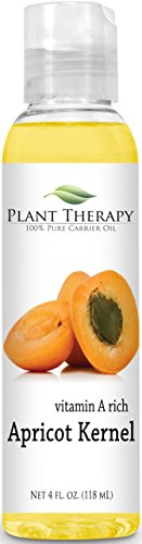 Apricot Kernel 4 oz Carrier Oil. A Base Oil for Aromatherapy, Essential Oil or Massage use.