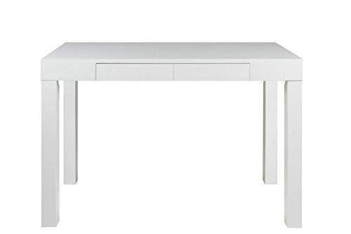 AC-Design-Furniture-43553-Schreibtisch-Laura-Holz-Lack-wei-matt-mit-1-Schublade-ca-120-x-76-x-60-cm