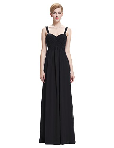 Sweetheart-Sleeveless-Chiffon-Ball-Gown-Evening-Prom-Party-Dresses