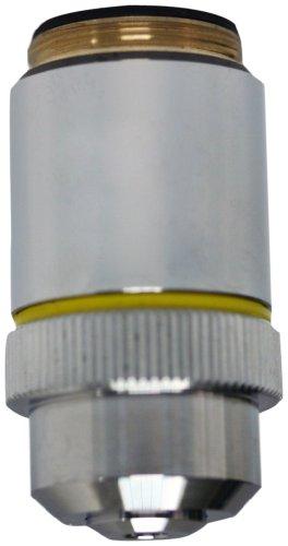 National Optical 710-160 10X Din Achromat Objective Lens, N.A. 0.25, For 160 Microscopes