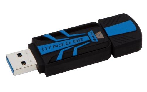 Kingston Digital 64Gb Usb 3.0 100Mb/S Read 45Mb/S Write Datatraveler (Dtr30G2/64Gb)