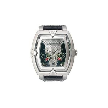 Ed Hardy Saber Panther Silver Dial Men's watch #SA-PT
