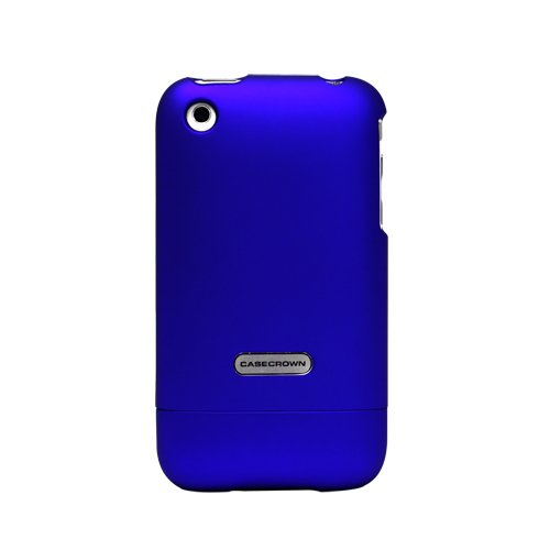 CaseCrown iPhone 3G and 3GS Polycarbonate Glider Slim Fit Case  Blue Sapphire