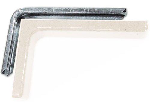 Bücherregal Möbel mit PVC Carter Elfenbein Größe 24 cm