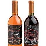 Wilton Vampire Theme Bottle Labels