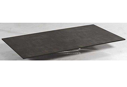 SonnenPartner Tischplatte Compact beton-dunkel HPL 200 x 100 made by Müsing