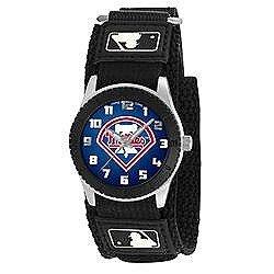 Game Time MLB Men's Philadelphia Phillies Rookie Series Watch, Black