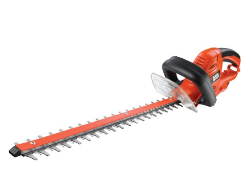BLACK+DECKER 500W 55cm Hedgetrimmer with 22mm Blade Gap