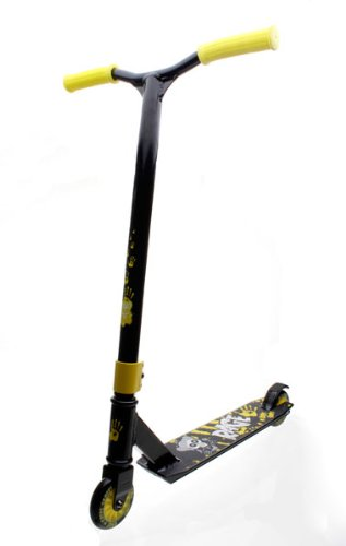 Slamm Rage II Monster Ripper Yellow Ltd Edition Scooter