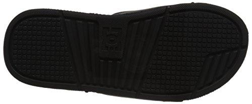 DC Men's Bolsa Slide Sandal, Black, 6 M US