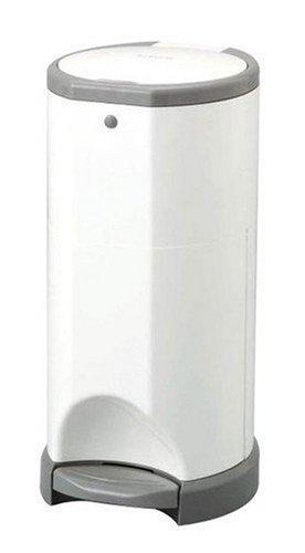日本育児 KORBELL おむつポット 本体幅24×奥行き25.5×高さ48cm 5102809001 ふんわりベビーパウダーな専用ロールで消臭効果抜群なおむつポッド