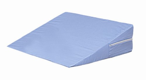 "Mabis Dmi 802-8026-0100 Foam Bed Wedge, Blue, 7"" X 24"" X 24"" front-72669"