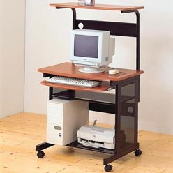 Buy Low Price Comfortable Desks Casual Contemporary Computer Unit with Computer Storage and Casters by Coaster (B0051PC3PY)