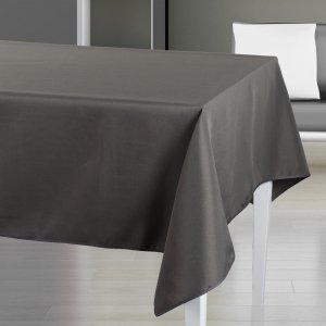 nappe anti tache gris anthracite 140x240 cm 103900l cuisine maison. Black Bedroom Furniture Sets. Home Design Ideas