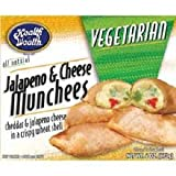 Health is Wealth Vegetarian Jalapeno and Cheese Munchee, 6 Ounce -- 12 per case.