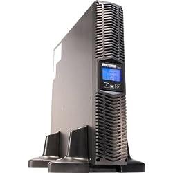 Minuteman 2000 VA Line Interactive Rack/Wall/Tower UPS with 9 Outlets - 2000 VA/1760 W - 6 Minute - 2U Tower/Rack Mountable - 6 Minute - 8 x NEMA 5-15/20R - , 1 x NEMA L5-20R - Spike, Surge, EMI / RFI - E2000RT2U