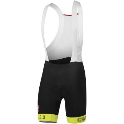 Castelli Body Paint 2.0 Bib Short - Men s BlackYellow Fluo XL - Men s 241bc65bd