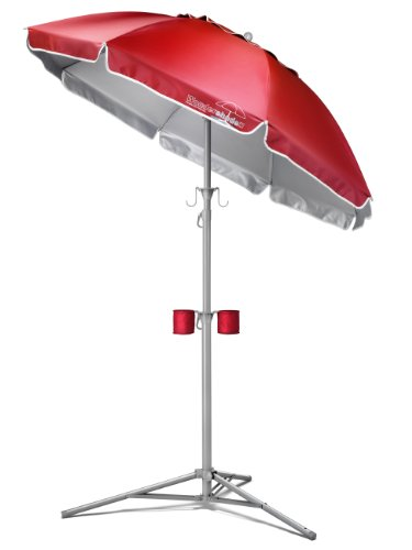 Wondershade II Portable Umbrella (Red)