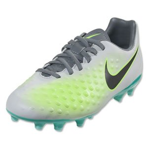 Nike Kids' Magista Opus II FG Soccer Cleat (Sz. 5.5Y) Pure Platinum, Ghost Green (Nike Outdoor Ball compare prices)