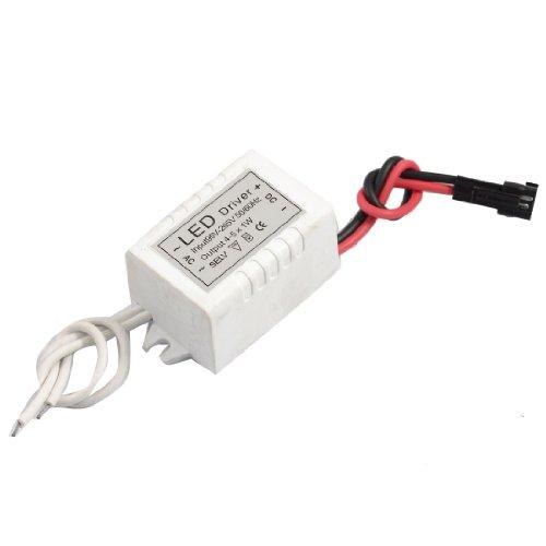 Ac 110-220V Dc 6-12V 300Ma Power Supply Driver For 4-5Pcs 1W Led Strip Light