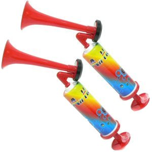 Pump Air Horn - Extremely Loud - (2 PACK)