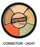 Graftobian Corrector Wheel Light Skin Tones